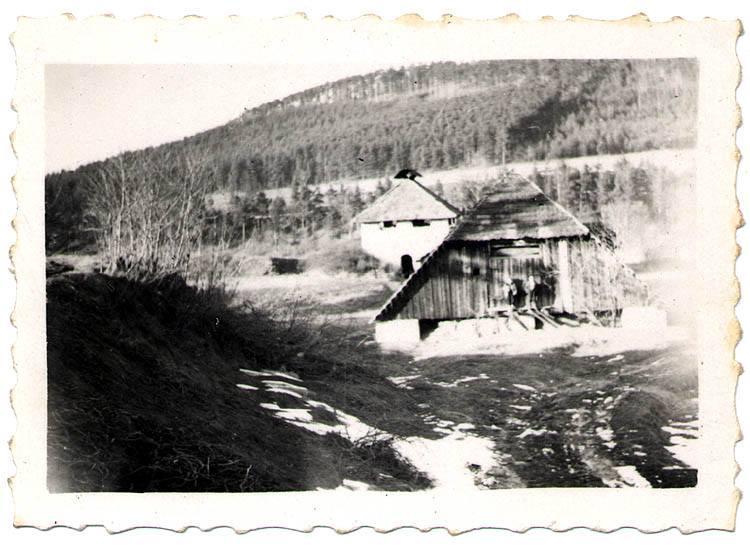 Cihelna chlum - pohled na sušárnu
