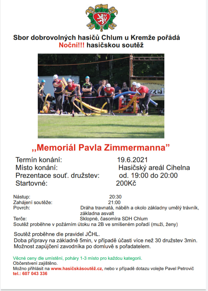 memoriál zimmermann